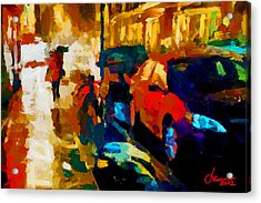Richmond Street Tnm Acrylic Print by Vincent DiNovici