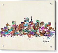 Richmond Virginia Acrylic Print by Bri B