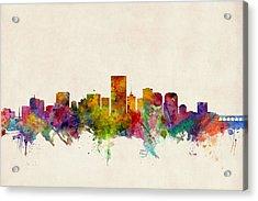 Richmond Virginia Skyline Acrylic Print