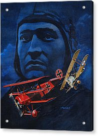 Richthofen And Brown Acrylic Print by Richard De Wolfe