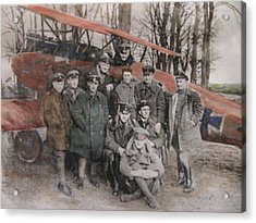 Richthofen And His Flying Circus Acrylic Print by Vikram Singh