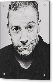Rick Fortson - Rick Kills Pencils Acrylic Print