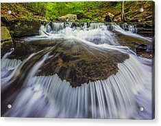 Rivers Run Acrylic Print by Mike Lang