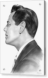 Ricky Ricardo Acrylic Print by Greg Joens