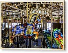 Ride A Painted Pony - Coney Island 2013 - Brooklyn - New York Acrylic Print