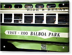 Ride And Relax San Francisco Street Car Acrylic Print by SFPhotoStore