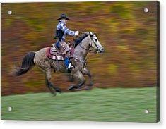 Ride Em Cowboy Acrylic Print