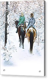 Ride Into Faerieland Acrylic Print by Jill Westbrook