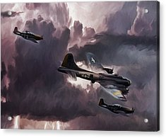 Riders On The Storm Acrylic Print