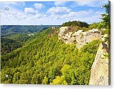 Ridge Top View Acrylic Print