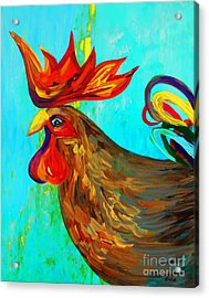 Ridiculously Handsome Acrylic Print by Eloise Schneider