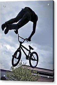 Riding High Acrylic Print by David Kehrli