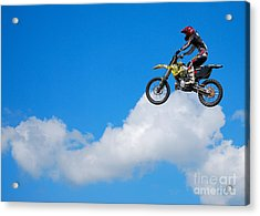 Riding The Clouds Acrylic Print