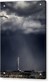 Rig In The Rain Acrylic Print