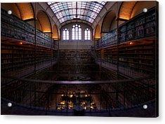Rijksmuseum Library Acrylic Print