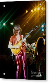 Rik Emmett Of Triumph At The Warfield Theater In San Francisco Acrylic Print
