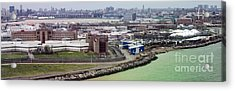 Rikers Island Jail - New York City Department Of Correction Acrylic Print by David Oppenheimer