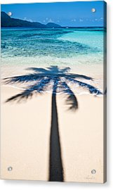 Rincon Shadow Acrylic Print by Renee Sullivan