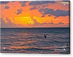 Rincon Sunset Acrylic Print