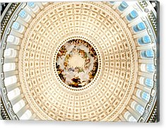 Ring Around The Capitol Acrylic Print