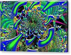 Ring Around The Nucleus Acrylic Print by Renee Lozen