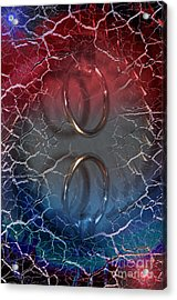 Ring Of Truth Acrylic Print by The Stone Age
