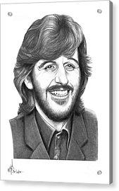 Ringo Acrylic Print by Murphy Elliott