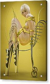 Rinjin Acrylic Print by Tsubasa Art