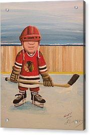 Rinkrattz- Chicago  Acrylic Print by Ron  Genest