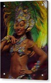 Rio Dancer IIi B Acrylic Print