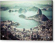 Rio De Janeiro Acrylic Print