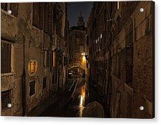Rio Della Verona Acrylic Print by Marion Galt