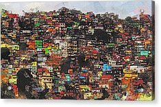 Rio Acrylic Print