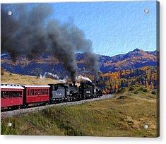 Rio Grande 488 And 489 Acrylic Print by Kurt Van Wagner