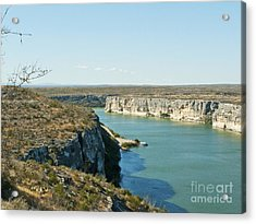 Acrylic Print featuring the photograph Rio Grande by Erika Weber