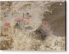 Rio Grande Rafting Acrylic Print by Steven Ralser