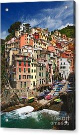 Rio Maggiore Marina Acrylic Print by Inge Johnsson