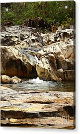 Rio On Pools Acrylic Print