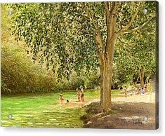 Rio Toba Acrylic Print by Margaret Merry