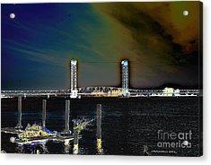 Rio Vista Bridge Acrylic Print