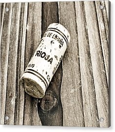 Rioja Wine Cork Acrylic Print
