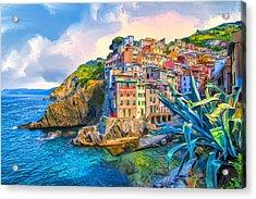 Riomaggiore Morning - Cinque Terre Acrylic Print