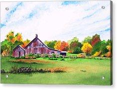 Rip Manning's Barn Acrylic Print