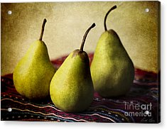 Ripe And Ready Acrylic Print by Linda Lees