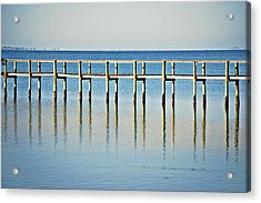 Rippled Reflections Acrylic Print