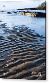Ripples In The Sand Acrylic Print by Anne Gilbert