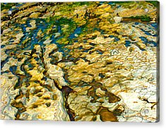 Ripples In Time Acrylic Print by Artist and Photographer Laura Wrede