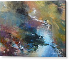 Ripples No. 2 Acrylic Print by Melody Cleary