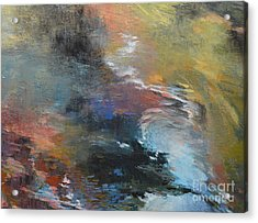Ripples No. 2a Acrylic Print by Melody Cleary