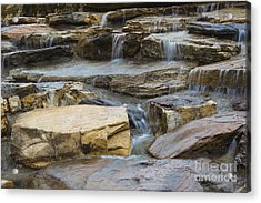 Ripples Of Water Acrylic Print by Michael Waters